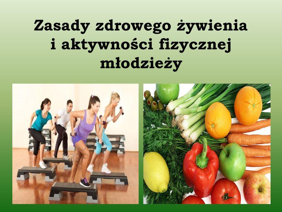 Pamiętaj o codziennym spożywaniu produktów zawartych w piramidzie !