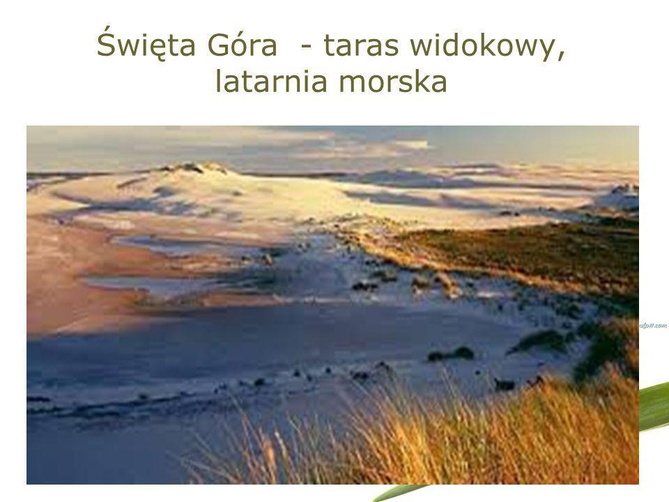 Święta Góra - taras widokowy, latarnia morska