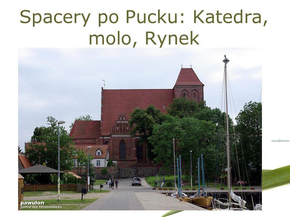Spacery po Pucku: Katedra, molo, Rynek