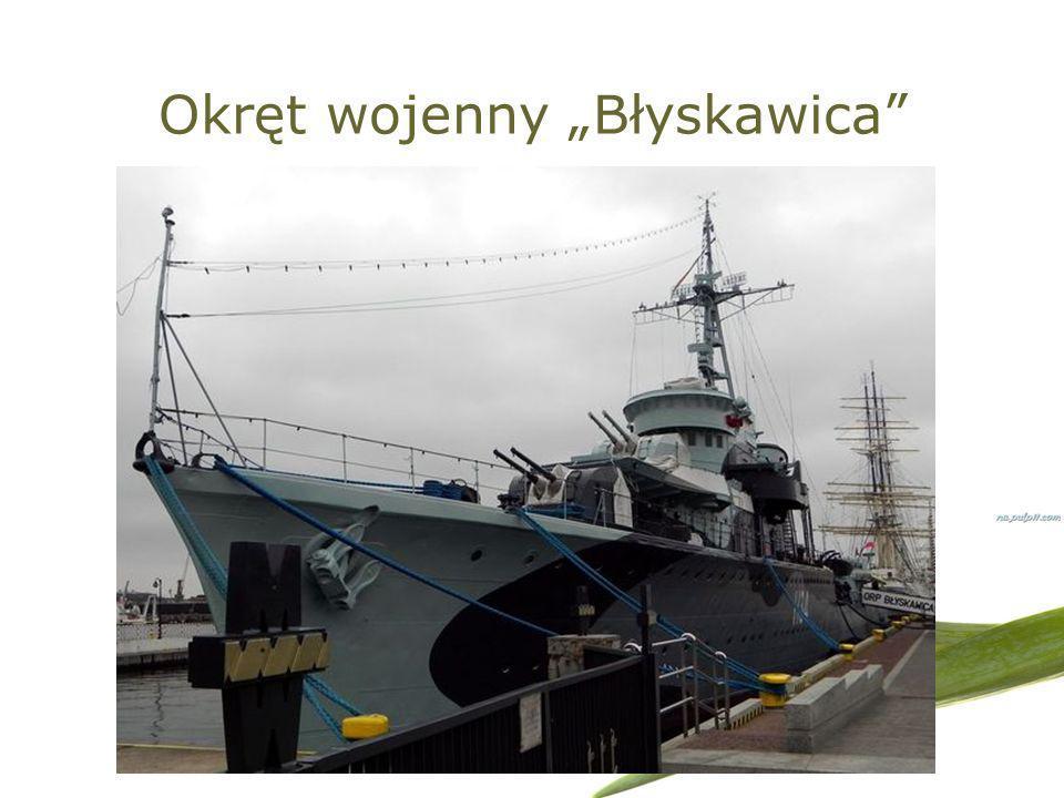 Okręt wojenny Błyskawica