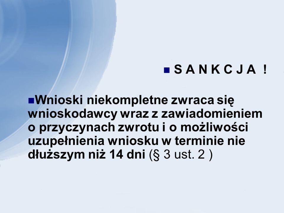 KONTROLA (§ 26 i 27 rozporządzenia) Przepisy § 26 ust.