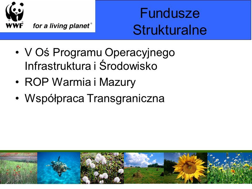 Fundusze Strukturalne V Oś Programu Operacyjnego Infrastruktura i Środowisko ROP Warmia i Mazury Współpraca Transgraniczna