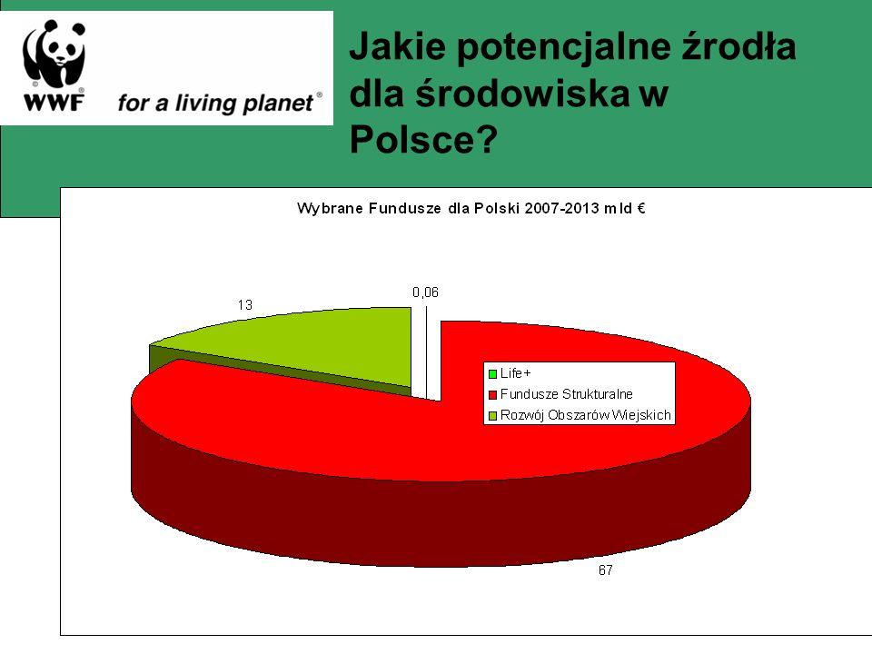 Jakie potencjalne źrodła dla środowiska w Polsce?