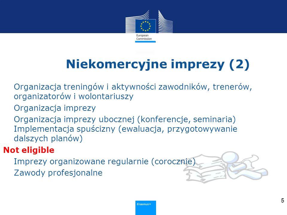 Sport Metoda selekcji 6 Zaproszenie do składania wniosków Publikowane raz do roku Komitet ewaluujący (zewnętrzni eksperci) Zasady niezależności i przejrzystości