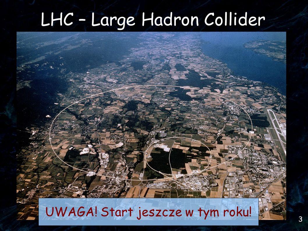 3 LHC – Large Hadron Collider UWAGA! Start jeszcze w tym roku!