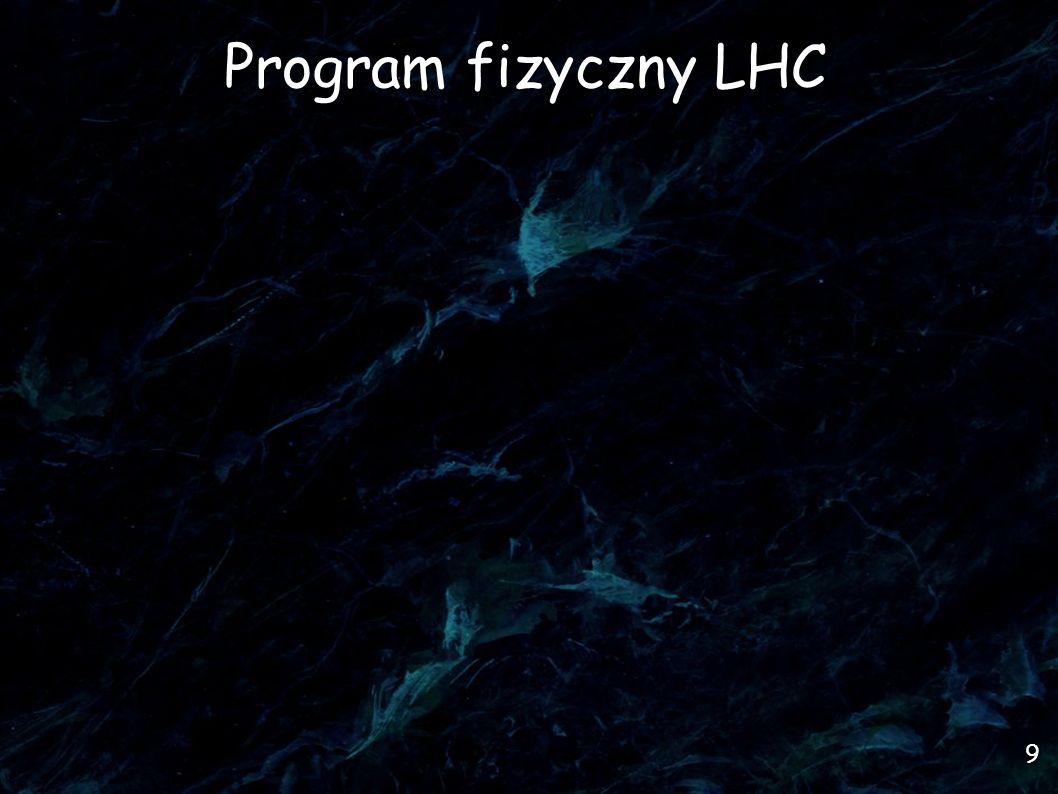 9 Program fizyczny LHC