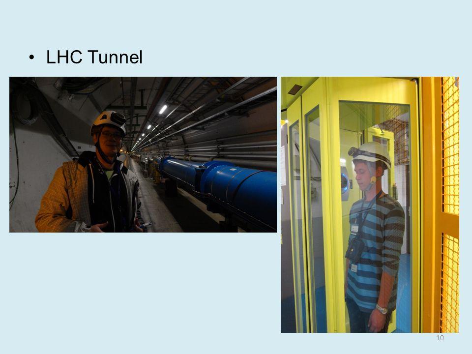 LHC Tunnel 10