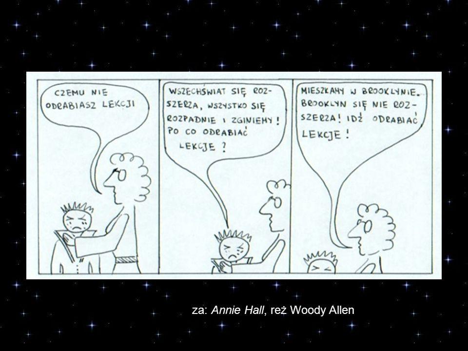 za: Annie Hall, reż Woody Allen