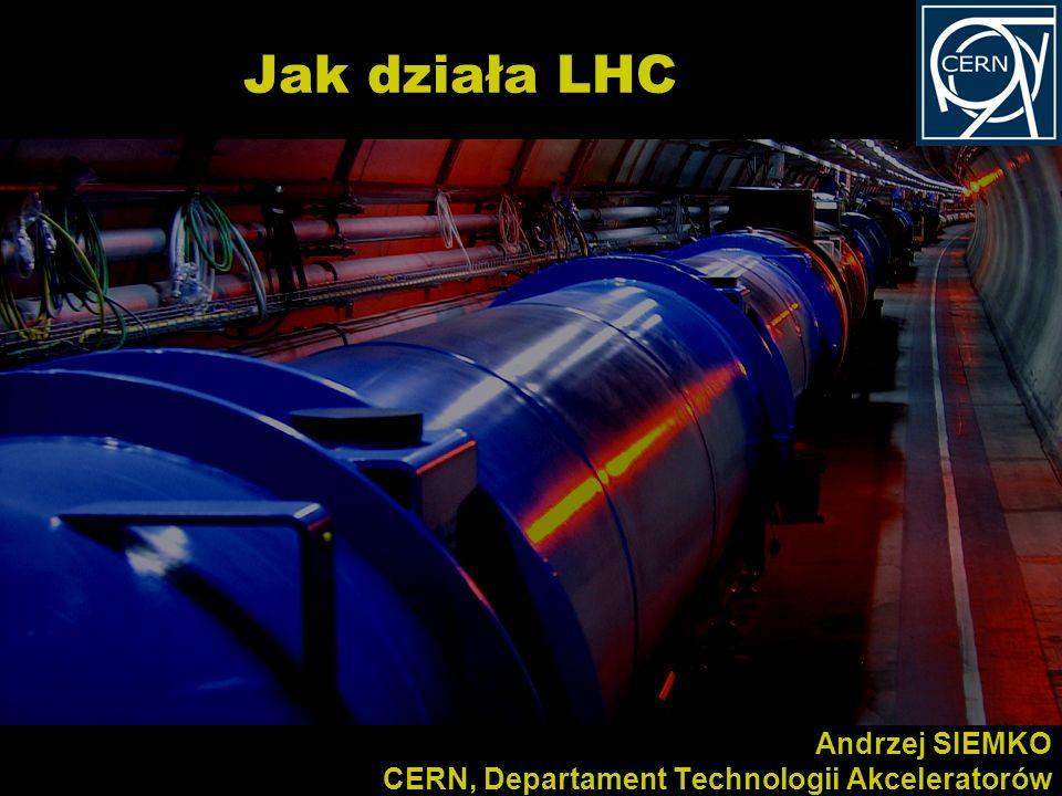 Kurs dla polskich nauczycieli fizyki w CERN 10-15//2011 Andrzej SIEMKO CERN, Departament Technologii Akceleratorów Jak działa LHC