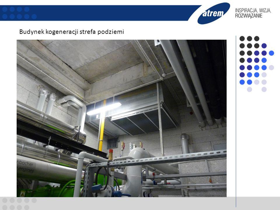 Zestawienie głównych urządzeń - Silnik kogeneracyjny Jenbacher moc elekry.