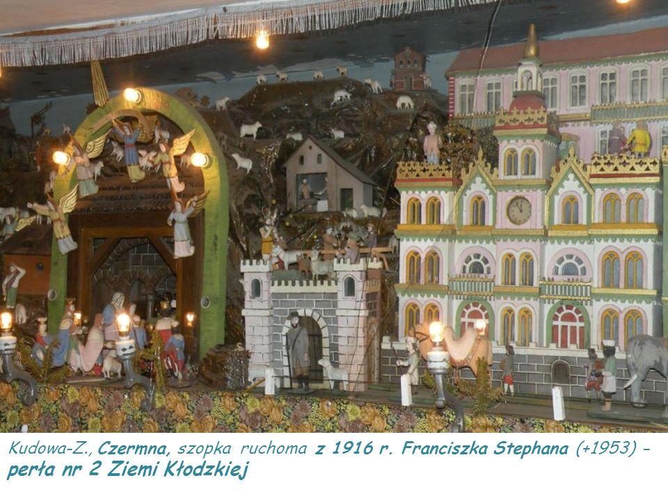 Wambierzyce, szopka historyczna z 1882 r. ślusarza Longina Wittiga (+ 1895) - perła nr 1 Ziemi Kłodzkiej