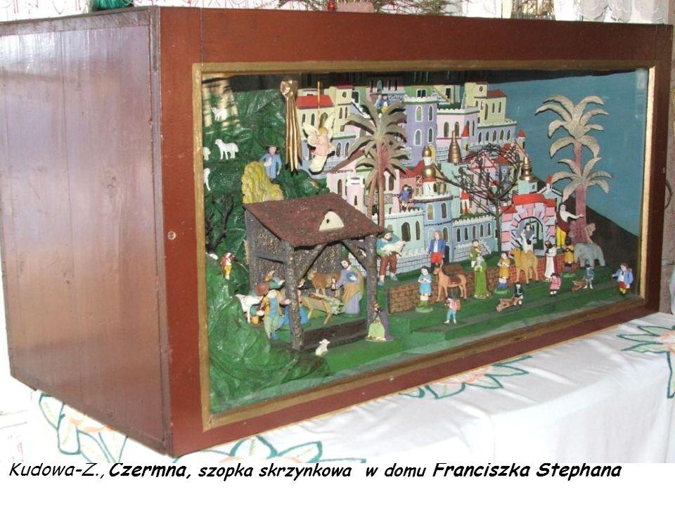Kudowa-Z., Czermna, szopka ruchoma z 1916 r. Franciszka Stephana (+1953) - perła nr 2 Ziemi Kłodzkiej