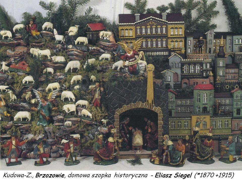 Kudowa-Z., Czermna, szopka skrzynkowa w domu Franciszka Stephana
