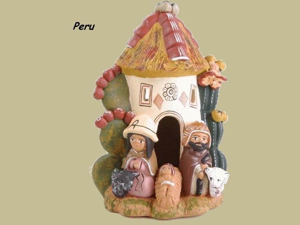 Peru,szopka na sprzedaż w Cuzco.