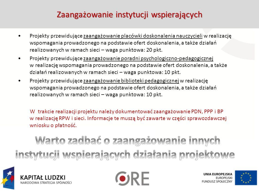 4. Organizacja sieci współpracy i samokształcenia