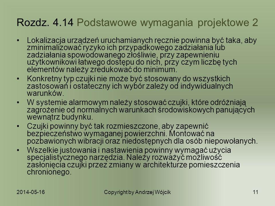 2014-05-16Copyright by Andrzej Wójcik11 Rozdz.