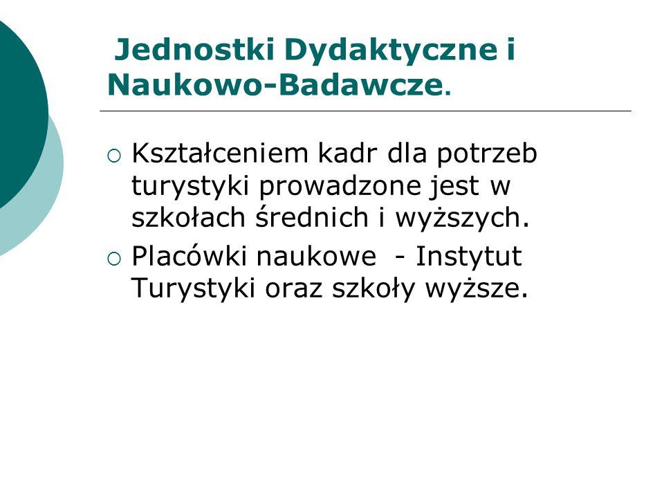 Inne Obszary Turystyka społeczna– ustawa z 4.03.1994 r.