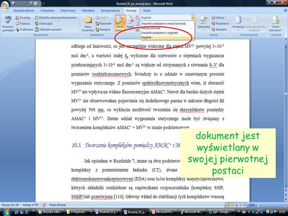 19 dokument jest wyświetlany w swojej pierwotnej postaci