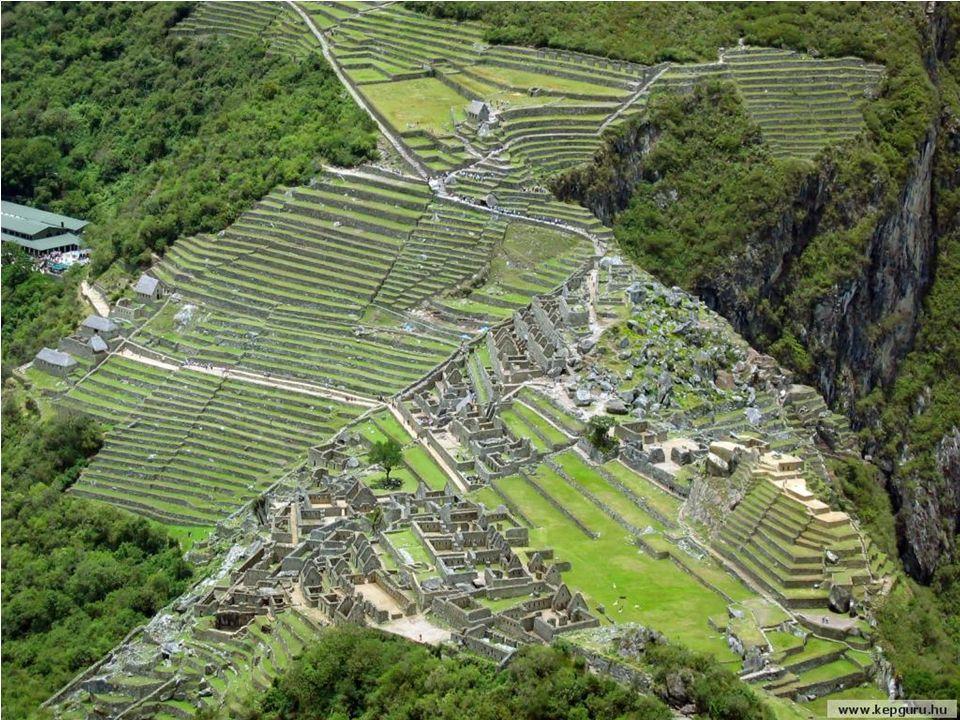 Machu Picchu najlepiej zachowane miasto Inków, w odległości 112 km od Cuzco.