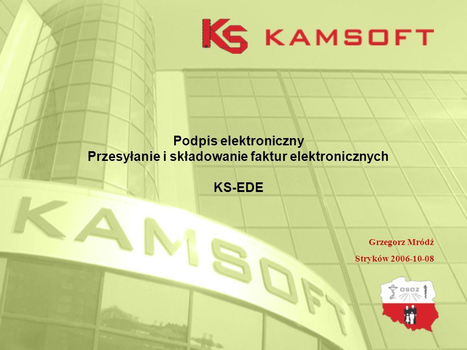 Praktyczne działanie KS-EDE I.Przygotowanie i instalacja.
