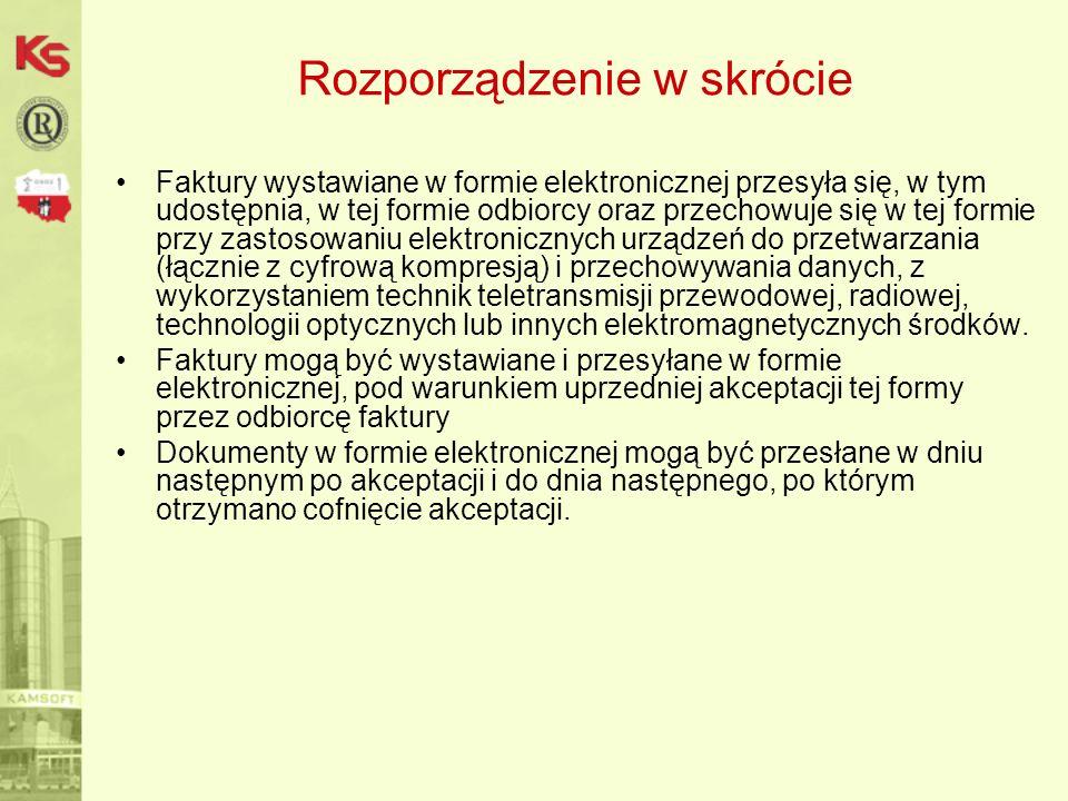 Wczytywanie faktur elektronicznych 2.