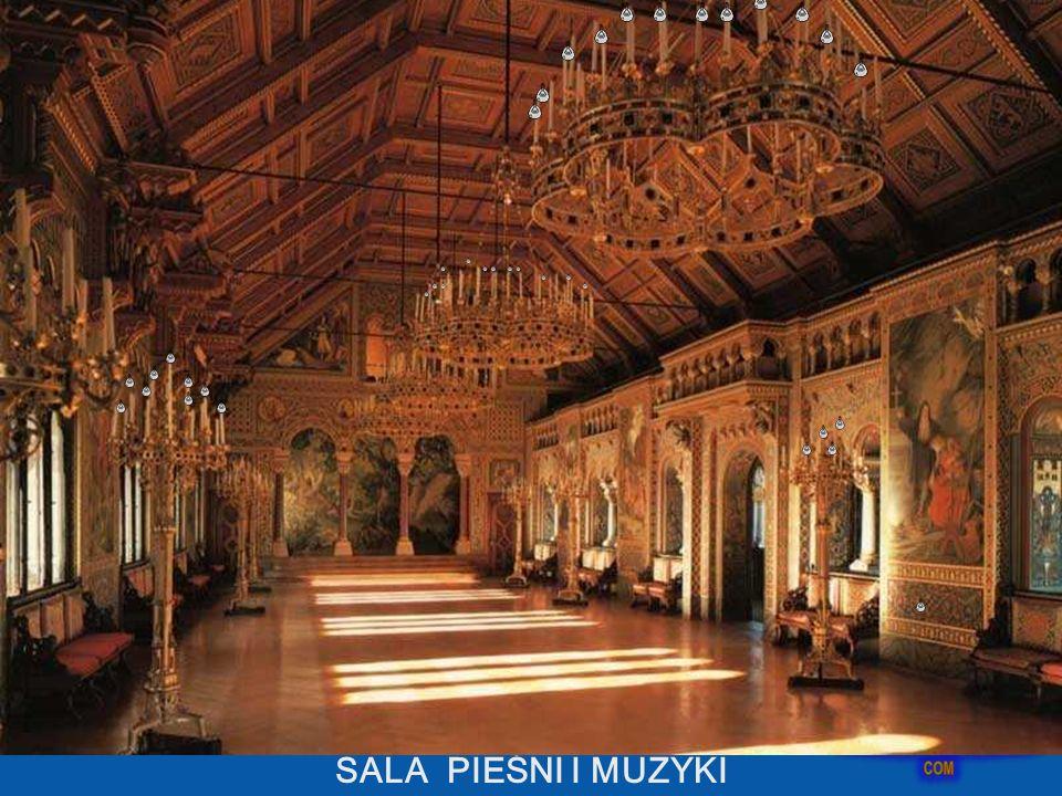 Sala Śpiewaków była projektem króla i obok Sali Tronowej, była głównym celem pobytu na Zamku. Obejmuje ona całe czwarte piętro we wschodniej części pa