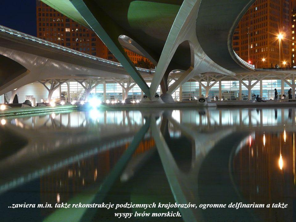 2.L Oceanogràfic – otwarte w 2002 r. największe oceanarium Europy o łącznej pow.110.000 m².
