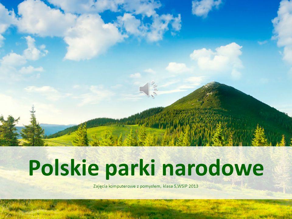 Świętokrzyski Park Narodowy Utworzony w 1950 roku.
