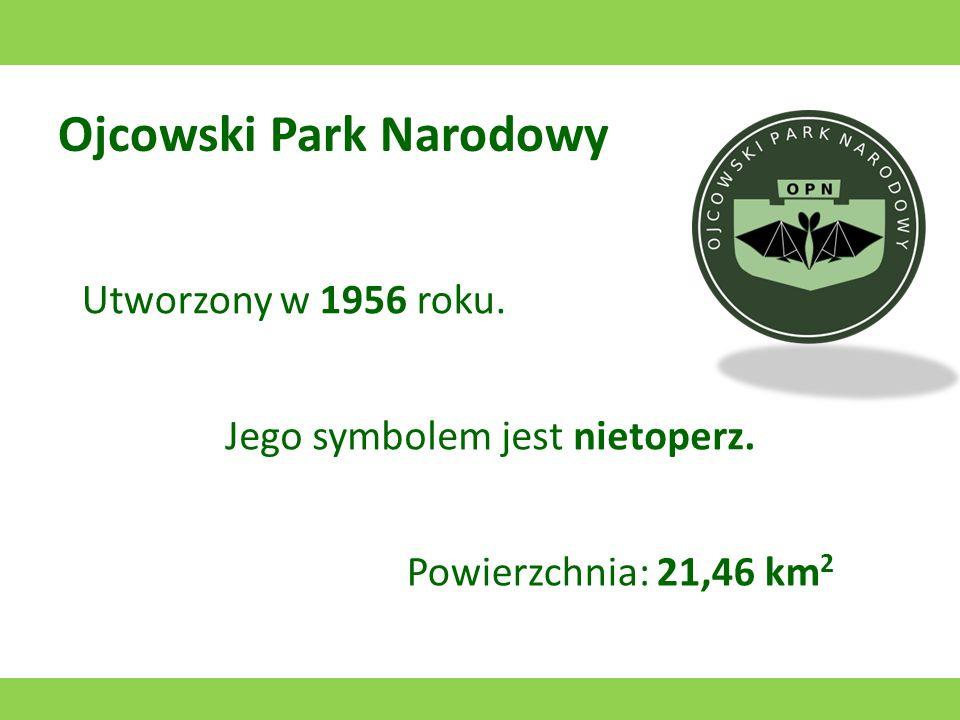 Narwiański Park Narodowy Utworzony w 1996 roku. Jego symbolem jest błotniak stawowy. Powierzchnia: 74 km 2