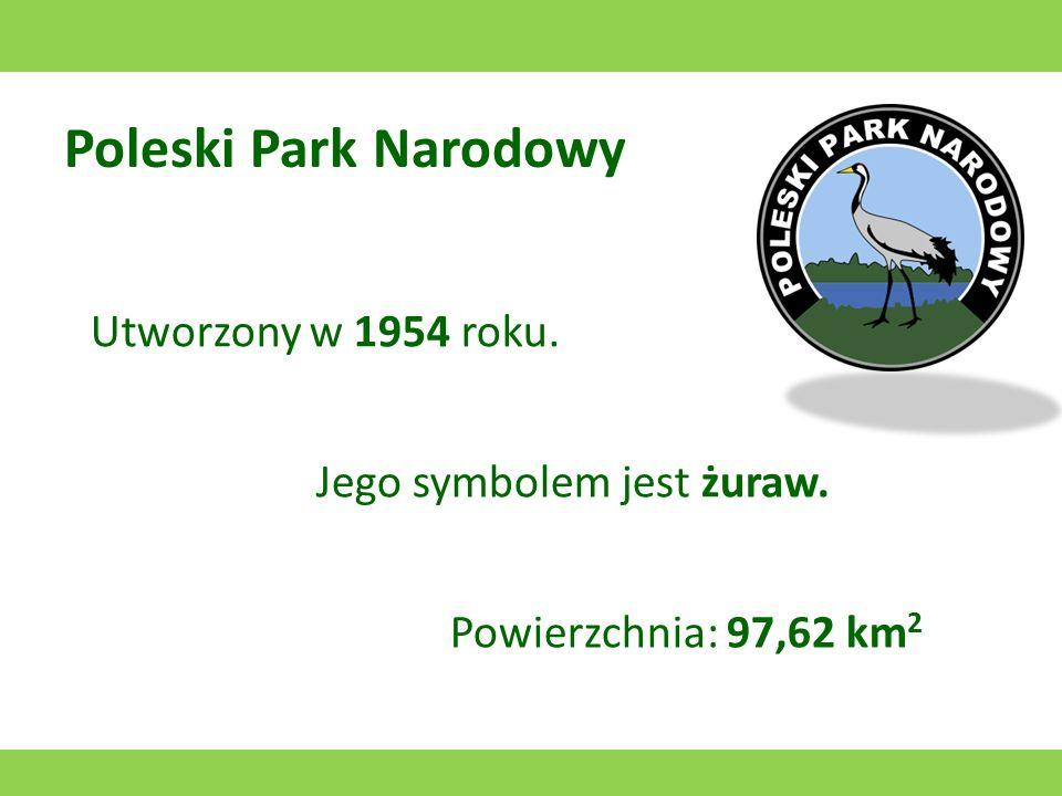 Pieniński Park Narodowy Utworzony w 1932 roku. Jego symbolem są Trzy Korony. Powierzchnia: 23,46 km 2