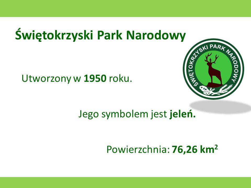 Słowiński Park Narodowy Utworzony w 1967 roku. Jego symbolem jest mewa. Powierzchnia: 215,73 km 2 (ląd) + 111,71 km 2 (obszary wodne)
