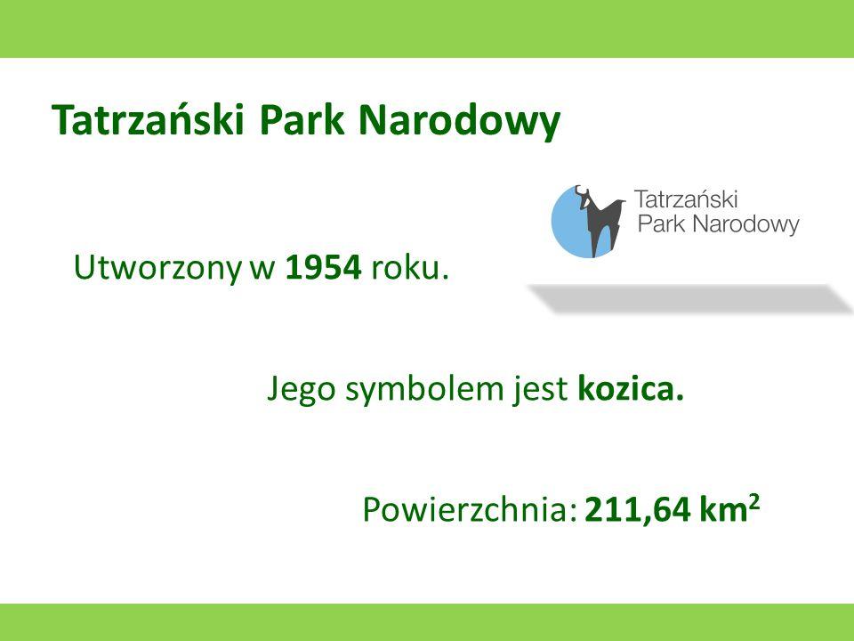 Świętokrzyski Park Narodowy Utworzony w 1950 roku. Jego symbolem jest jeleń. Powierzchnia: 76,26 km 2