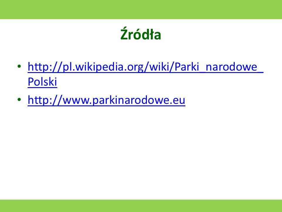 Woliński Park Narodowy Utworzony w 1960 roku. Jego symbolem jest orzeł bielik. Powierzchnia: 109,37 km 2 (łącznie z akwenem morskim)