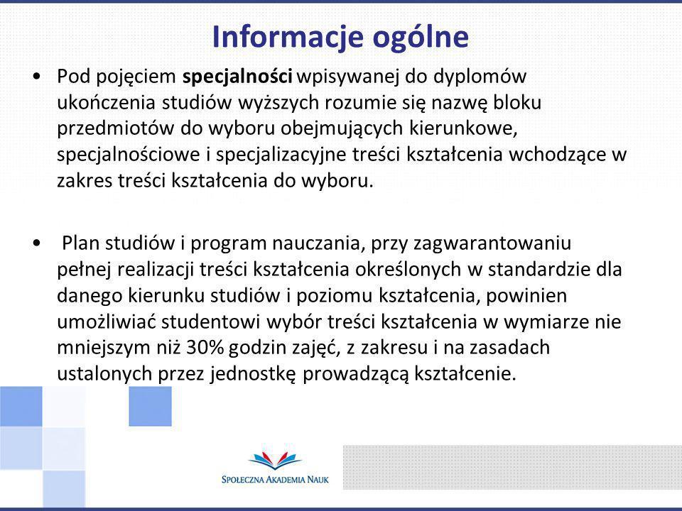Opiekunowie specjalności: dr Jadwiga Kaczmarska – Krawczak jkaczmarska@interia.pl dr Andrzej Marjański, amarjanski@spoleczna.pl, 696043742 Zarządzanie organizacjami