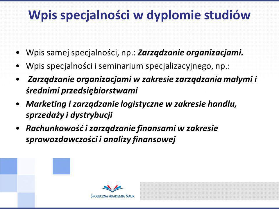 Kontakt: mbrzozowska@spoleczna.pl Katedra Marketingu i Logistyki: www.marketing.spoleczna.pl Marketing i Zarządzanie Logistyczne dr Katarzyna Kolasińska – Morawska mgr inż.