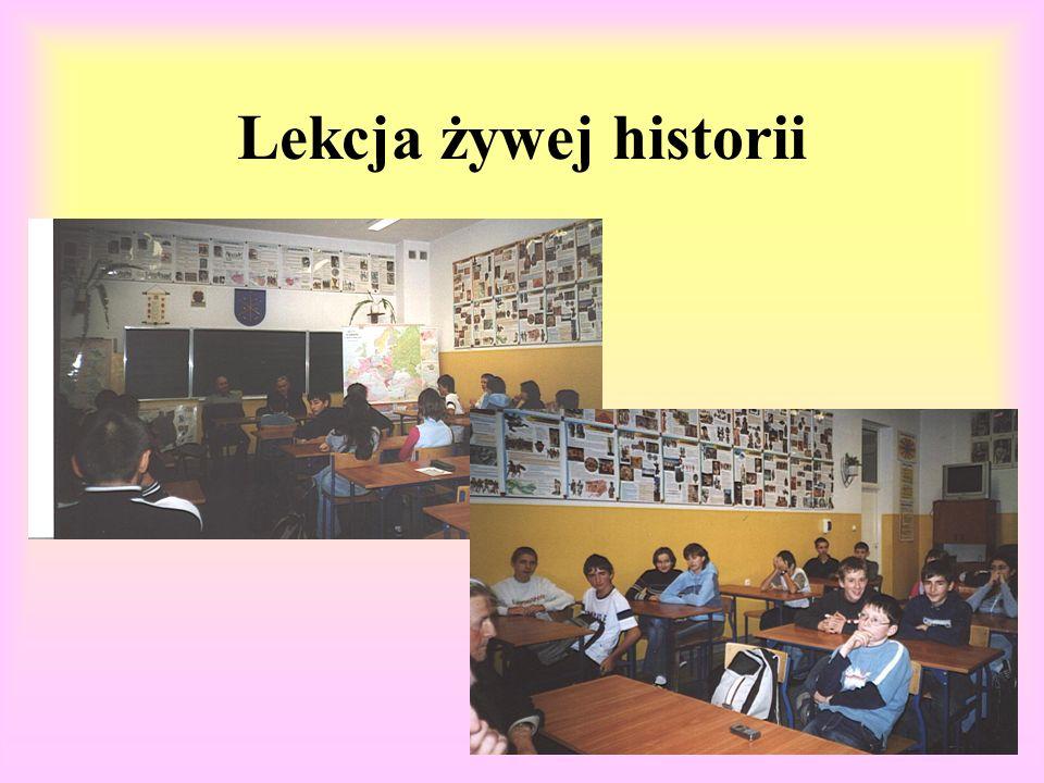 Lekcja żywej historii