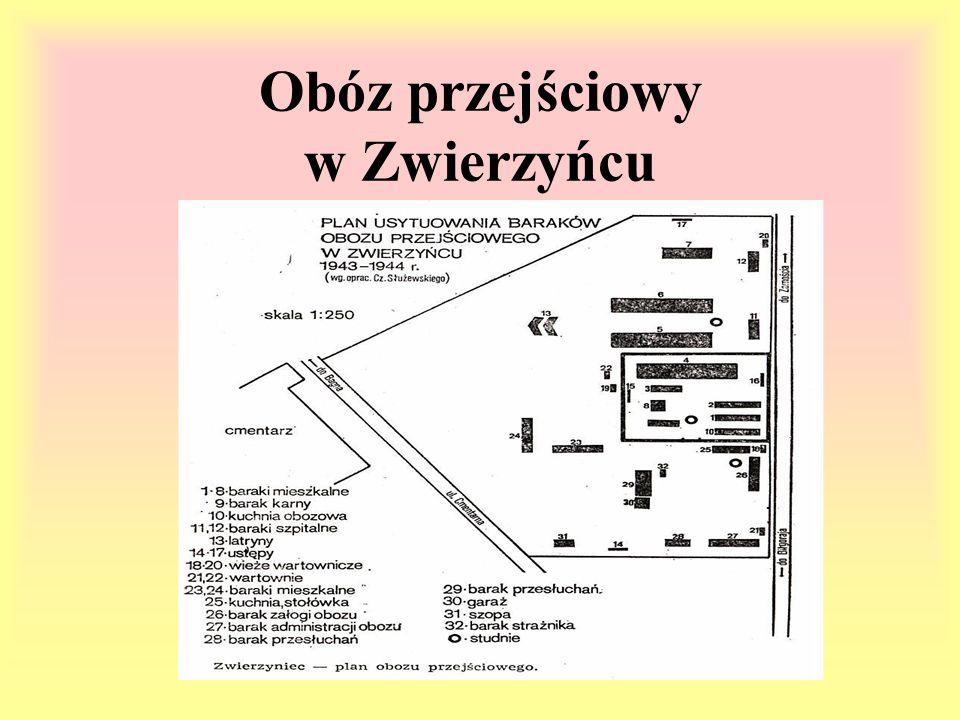 Obóz przejściowy w Zwierzyńcu