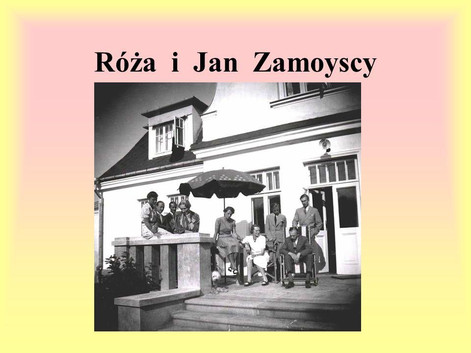 Róża i Jan Zamoyscy