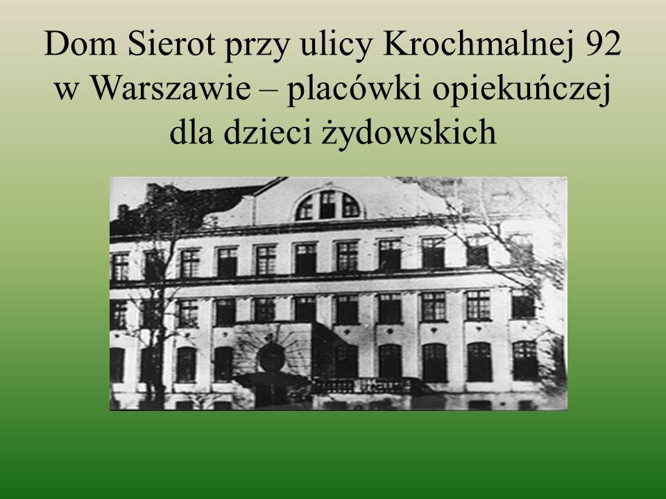 7 października 1912 roku Janusz Korczak zostaje dyrektorem Domu Sierot.