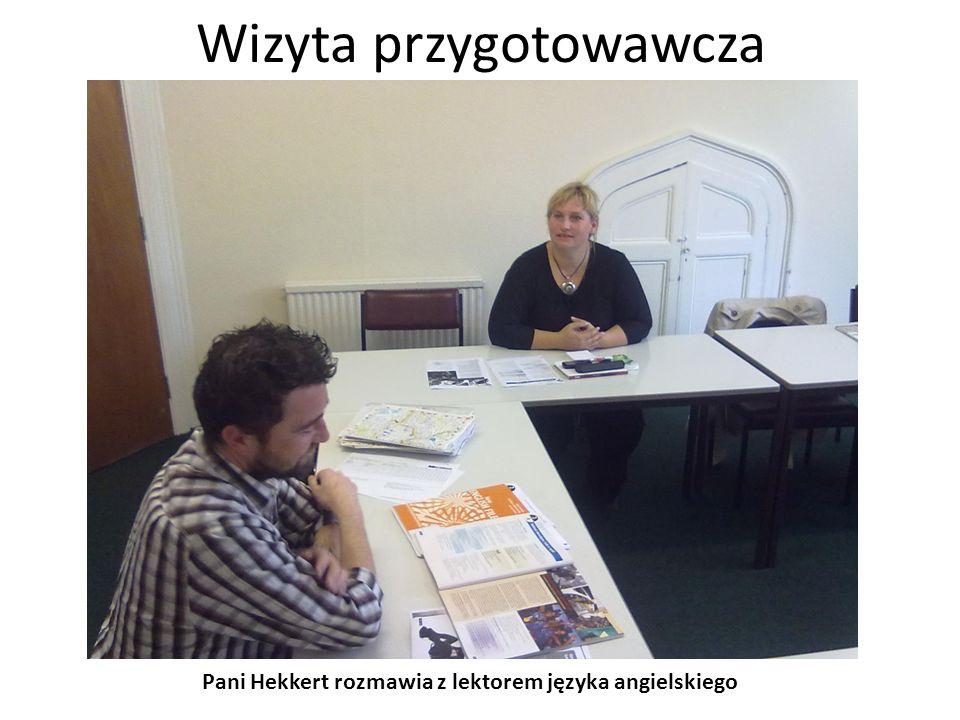 Wizyta przygotowawcza Wizyta w angielskim domu, który gości uczniów odbywających praktyki z innych krajów