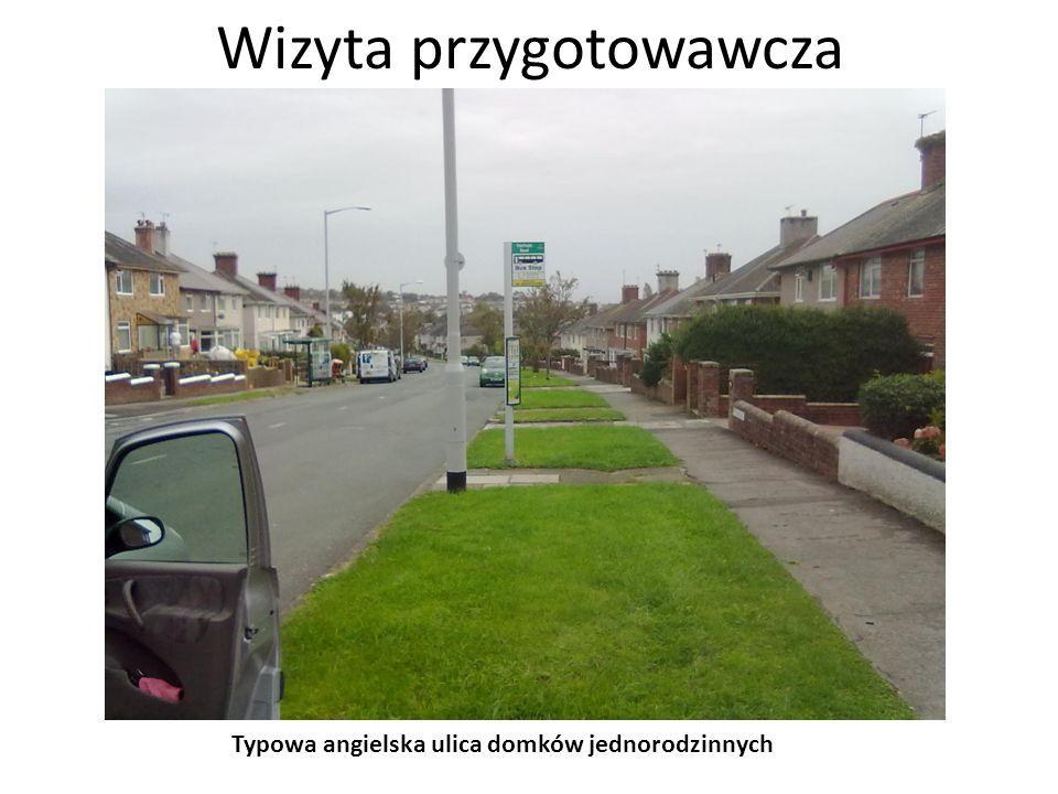 Wizyta przygotowawcza Widoki z miasta Plymouth