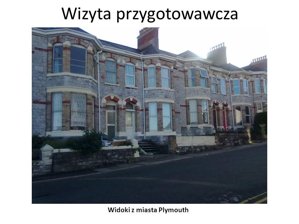 Wizyta przygotowawcza Widoki z miasta Plymouth - uniwersytet