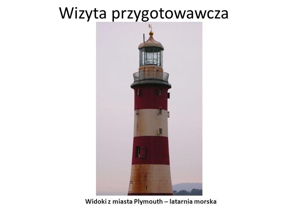 Wizyta przygotowawcza Widoki z miasta Plymouth – wybrzeże