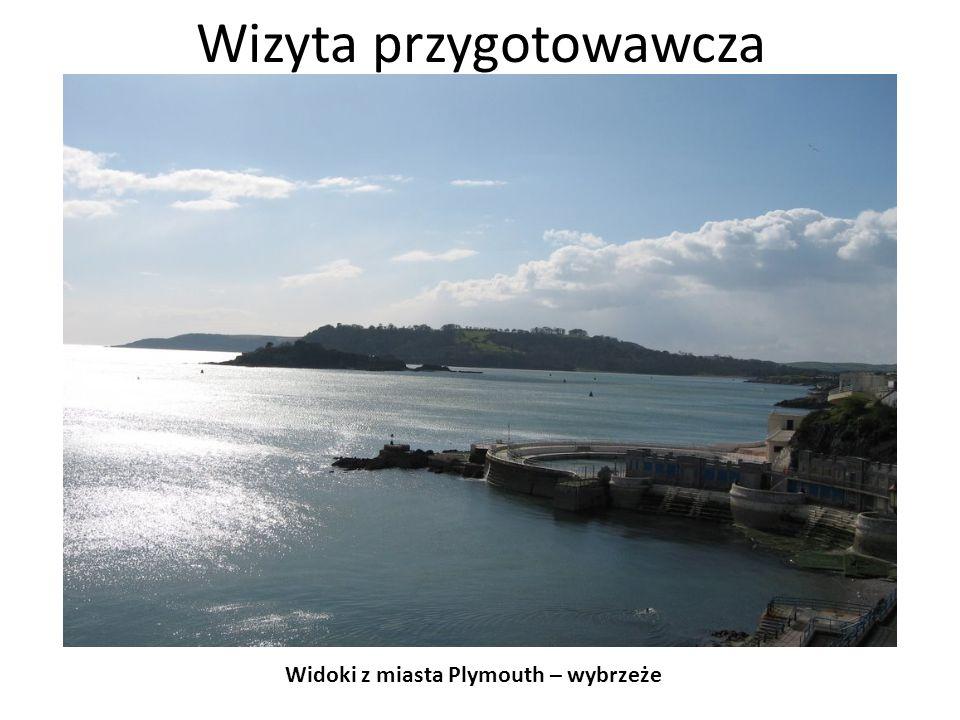 Wizyta przygotowawcza Widoki z miasta Plymouth – jak oni jeżdżą?!