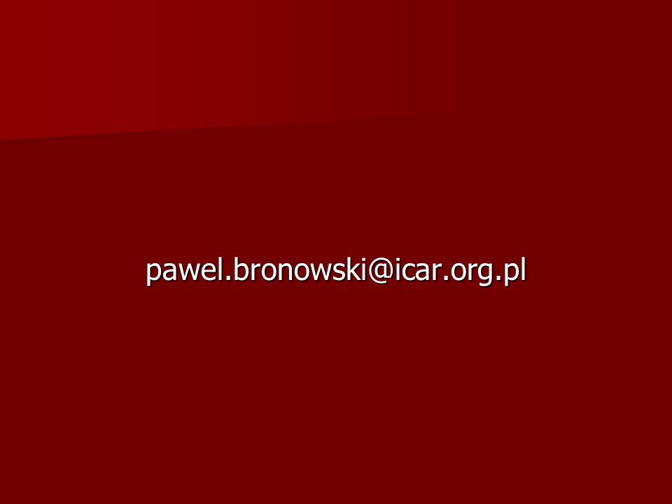 pawel.bronowski@icar.org.pl