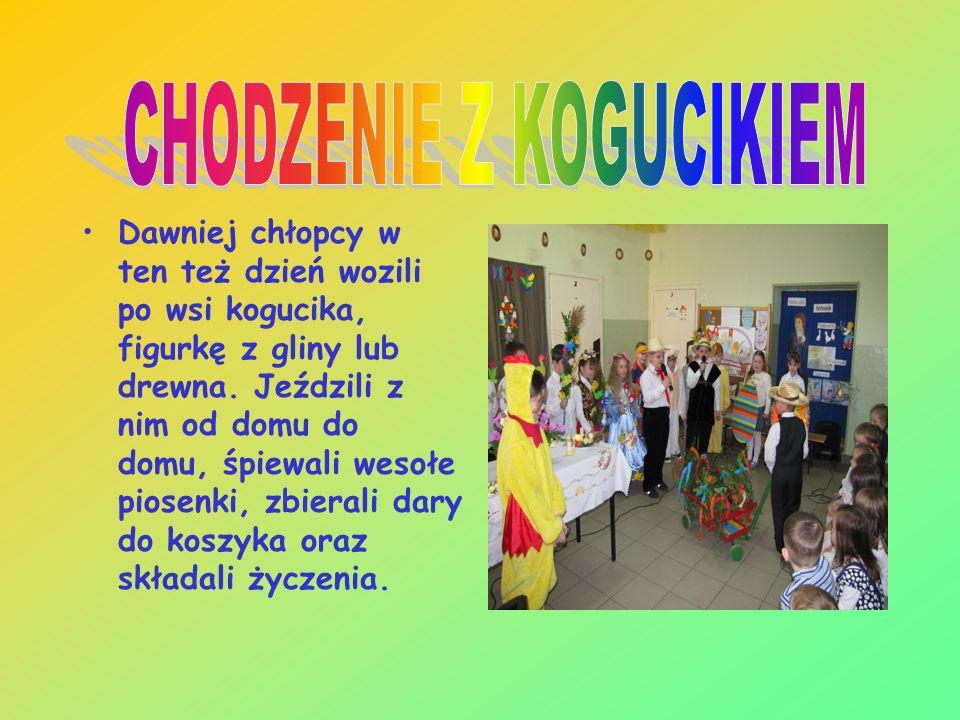 W wielkanocny Poniedziałek zaś w Sosnowicach - zresztą tak jak wszędzie - jest po prostu mokro. Od zawsze wszędzie tam, gdzie w domu była dziewczyna,