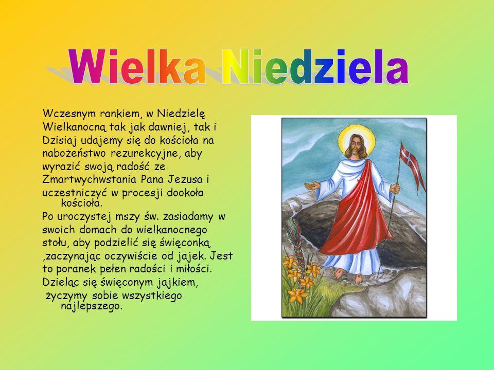 Wielki Piątek po Sosnowicach chodzili Zocki, czyli zwiastuni umęczenia Pana Jezusa: trzech chłopców w wieku około 10 lat, z namalowanymi czarnymi wąsa