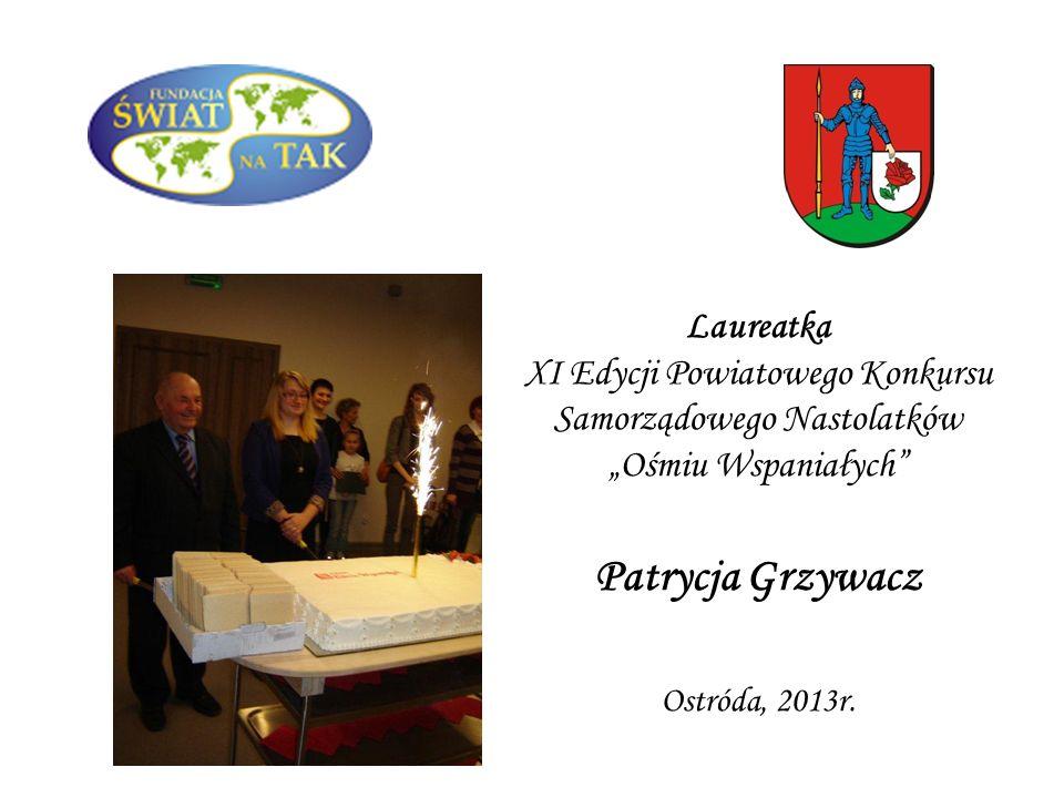 WSPANIAŁE POWIATU OSTRÓDZKIEGO Ostróda, 11 marca 2014r.