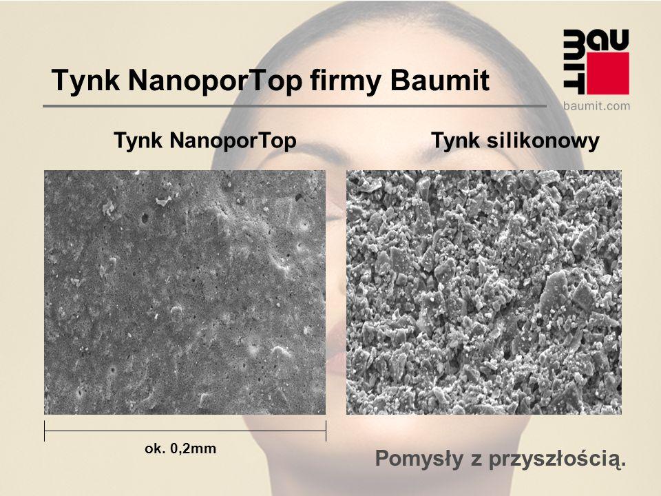 Pomysły z przyszłością. Tynk NanoporTop firmy Baumit Tynk NanoporTopTynk silikonowy ok. 0,2mm