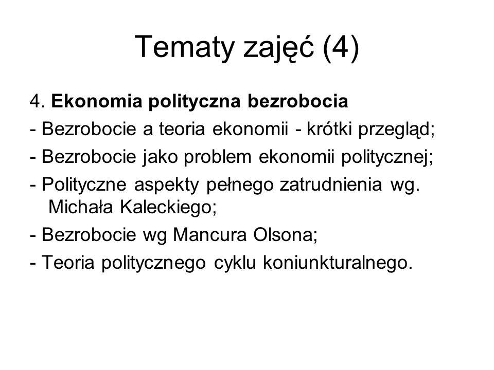 Tematy zajęć (4) 4.
